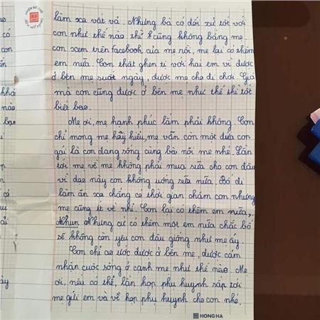 Sự thật về lá thư của học sinh lớp 5 đang gây bão mạng: 'Con mong mẹ hiểu, mẹ còn đứa con gái đang sống cùng bà nội' 2