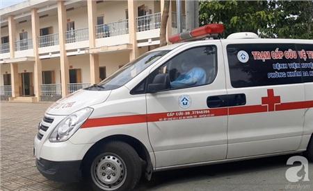 Khu cách ly tập trung tại Bệnh viện dã chiến ở huyện Củ Chi (TP.HCM).