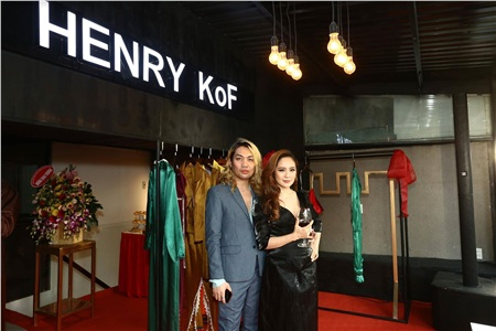 Diễn viên Thanh Thủy và nhà thiết kế HENRY KoF
