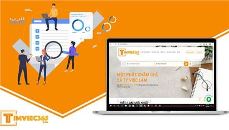 Tìm việc làm trong thời kỹ thuật số - Điều tốt đẹp từ timviec365.com! 2