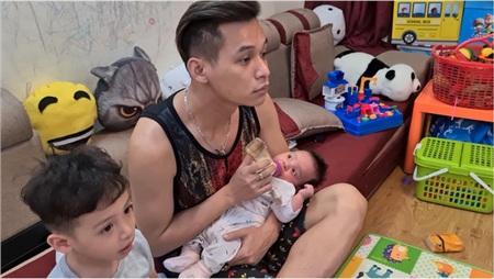 Trốn stream với fan, Độ Mixi hé lộ cuộc sống của ông bố 'bỉm sữa' khi cả ngày ở nhà trông con, cơm nước 5