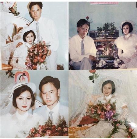 Ảnh cưới của bố mẹ Khánh My thời xưa