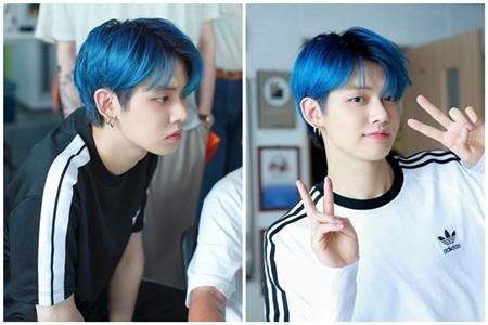 Không thể phủ nhận với màu tóc này, Yeonjun điển trai hơn rất nhiều, nhất là những khoảnh khắc pose dáng 'thẩn thơ' mang tính 'sát thương' cực cao.