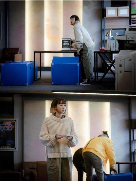 Ảnh hậu trường của Kim Da Mi 'Itaewon Class': Trong phim siêu 'ngầu', ngoài đời lại siêu đáng yêu 21