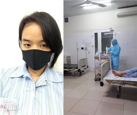 Tôn Nữ và các bạn trong phòng đều tuân thủ việc đeo khẩu trang, tránh tiếp xúc quá gần, hàng ngày đều được bác sĩ thăm khám, theo dõi tình hình sức khỏe
