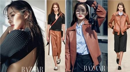 'Thả dáng' quá đỉnh, Park Min Young liên tục được khen diện đồ đẹp hơn người mẫu của hãng 6