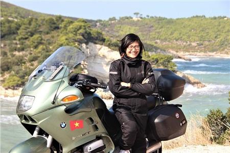 Chị Lê Thủy Anh - người Việt đang sinh sống tại Ý
