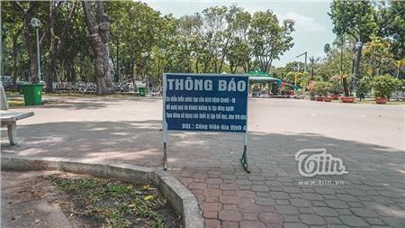 Ngày 25/3, các công viên tại 24 quận, huyện trên địa bàn TP.HCM chính thức tạm ngưng đón khách nhằm phòng chống dịch bệnh Covid-19.