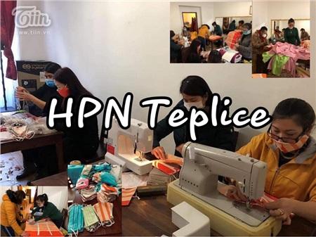 Chung tay chống dịch Covid: Người Việt tại Séc may khẩu trang vải, tặng đồ ăn cho lực lượng y tế và người dân nước sở tại 5