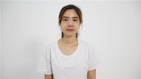 Cô gái đã trải qua 4 tháng để thay đổi diện mạo mới.