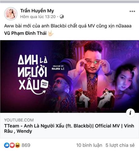 Ngọc Trinh, Tiến Luật cùng loạt sao Việt hết lời khen ngợi MV mới của Thái Vũ 4