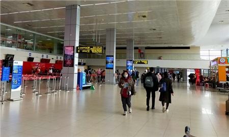 Sân bay Nội Bài vắng vẻ trong mùa dịch Covid-19