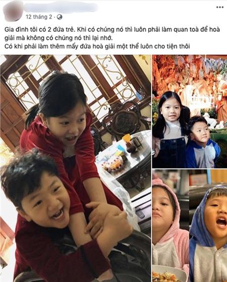 Có vẻ như, bạn trai mới cũng rất được lòng con trai của Thu Quỳnh khi thường xuyên chia sẻ hình ảnh ảnh bé Be và con gái anh thân thiết bên nhau.