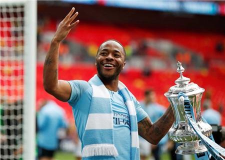Raheem Sterling ghi cú đúp sterlingở chung kết FA Cup mùa trước