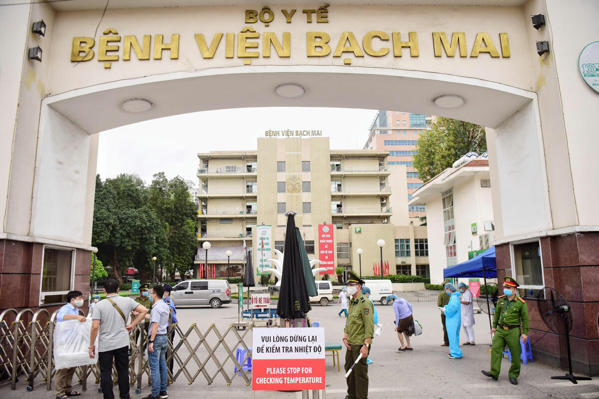 Bệnh viện Bạch Mai đã yêu cầu nội bất xuất ngoại bất nhập bắt đầu từ 0h ngày 28/3/2020