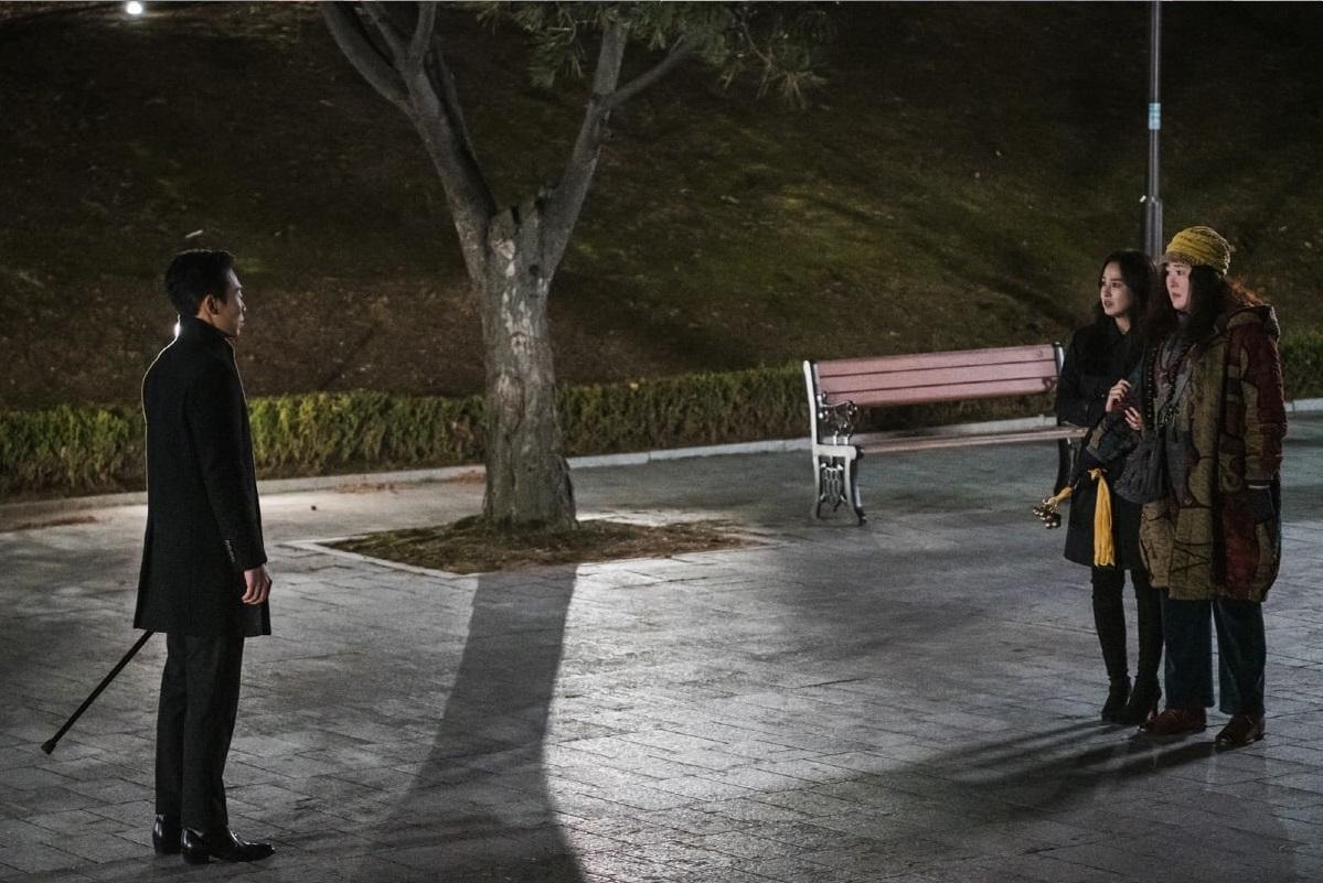 Anh ta đến để bắt Seo Woo đi