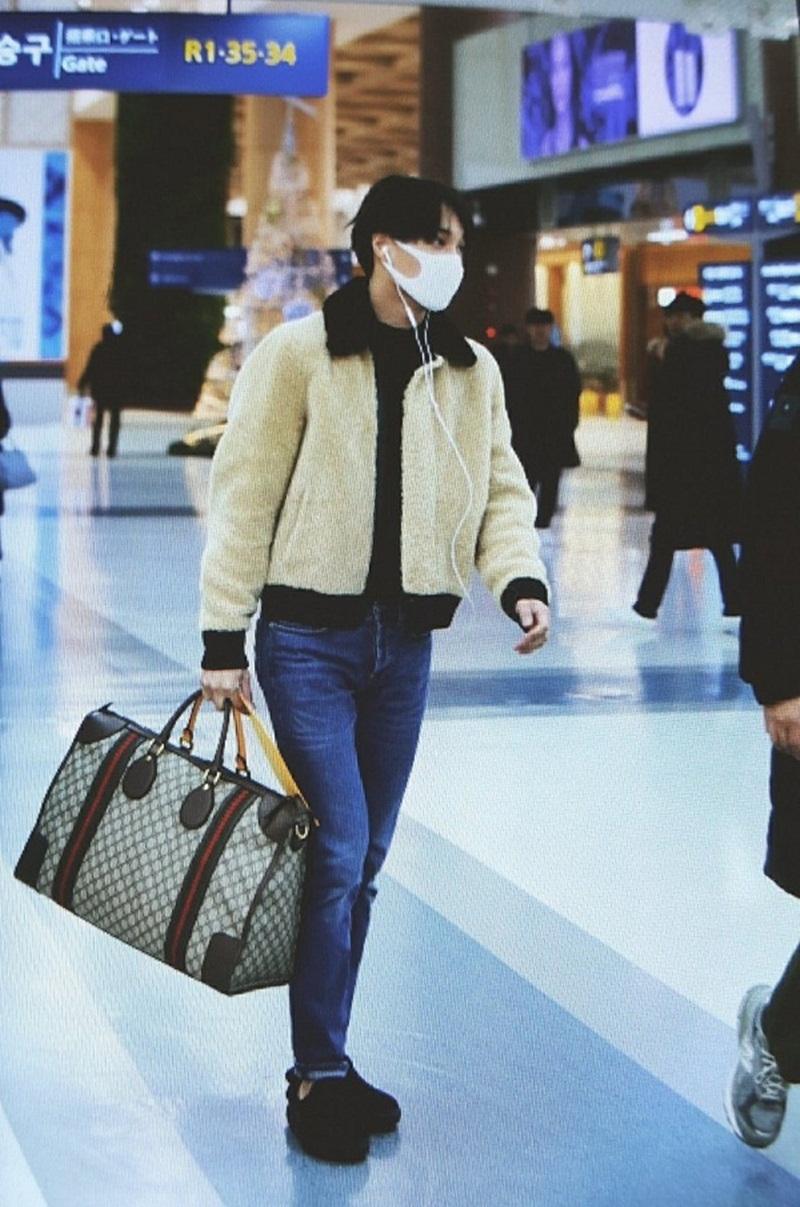 Một thiết kế túi Unisex đến từ nhàmốt nước Phápkhácđược Kai vô cùng yêu thíchchính là Soft GG Supreme Duffle Bag.