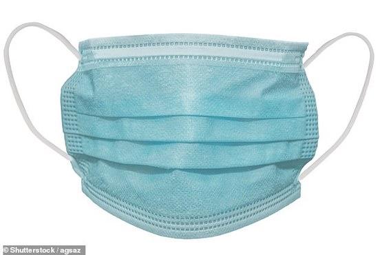 Virus được phát hiện tồn tại trên lớp ngoài của khẩu trang y tế ở ngày thứ 7. Ảnh: Shutterstock