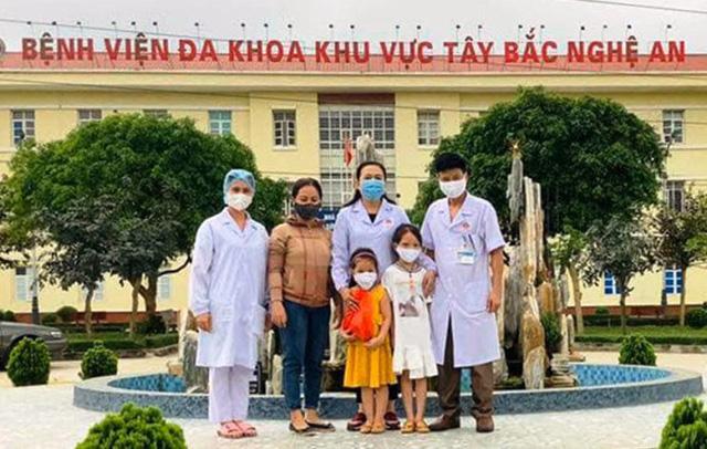 Số tiền này được gửi đến bệnh viện đa khoa khu vực Tây Bắc, Nghệ An.