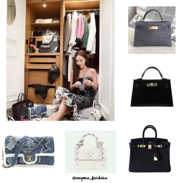 Bộ sưu tập hơn 300 túi xách, trị giá 22 tỷ đồng của Jessica 7