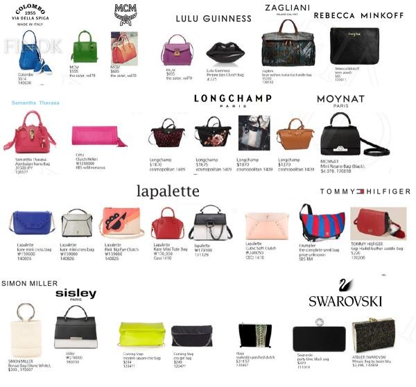 Bộ sưu tập túi xách trị giá cả gia tài của Jessica.