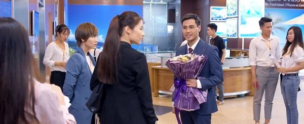 Vẻ đẹp trai, đào hoa của Sơn không thể làm lay chuyển quyết định của Linh.