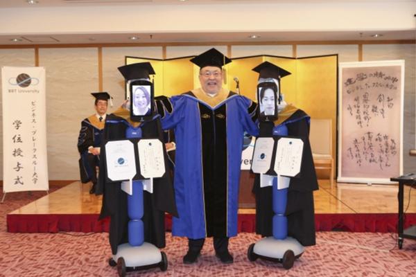 Lễ tốt nghiệp trực tuyến độc đáo nhận được sự ủng hộ nhiệt tình của sinh viên.