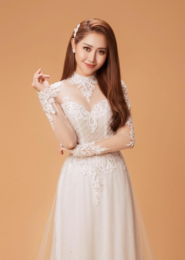 Diễn viên Tường Vi hóa cô dâu trong bộ ảnh mới, bật mí muốn chuyện tình cảm phải tự nhiên, không áp đặt 5