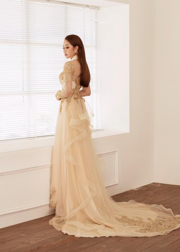 Diễn viên Tường Vi hóa cô dâu trong bộ ảnh mới, bật mí muốn chuyện tình cảm phải tự nhiên, không áp đặt 3