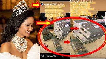 Hoa hậu H'Hen Niê khoe hình ảnh đi đóng thuế với số tiền 'khủng'