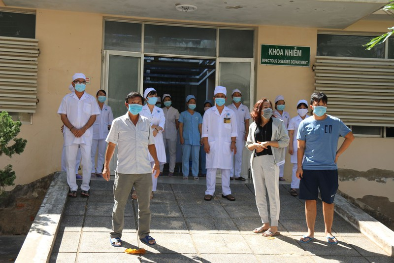 Các bệnh nhân được chữa khỏi Covid-19