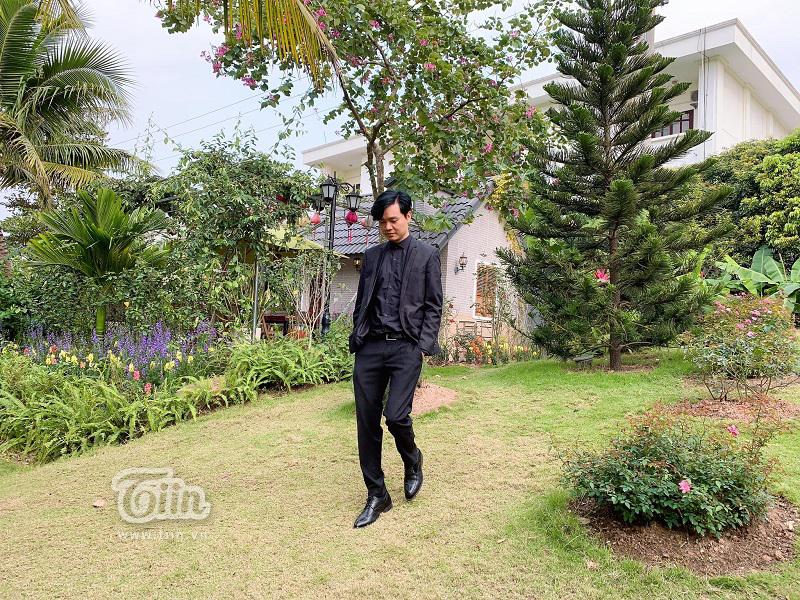 Anh Phạm Ngọc Thanh, chủ nhân ngôi nhà 'Nhà của chúng mình'