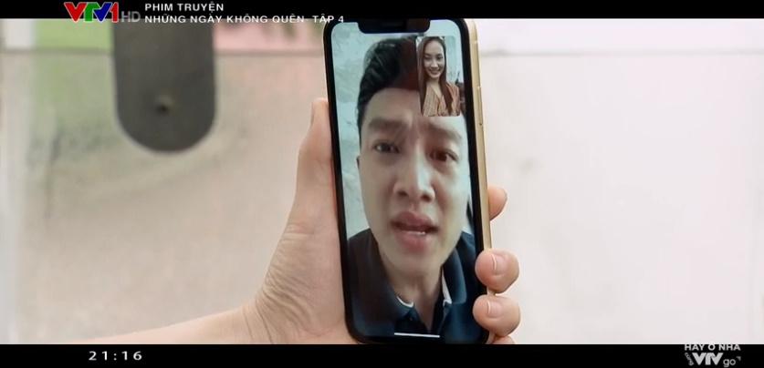 'Những ngày không quên': Fan chờ mãi mới thấy Vũ (Quốc Trường) xuất hiện nhưng lại chỉ được nhìn qua màn hình điện thoại 1