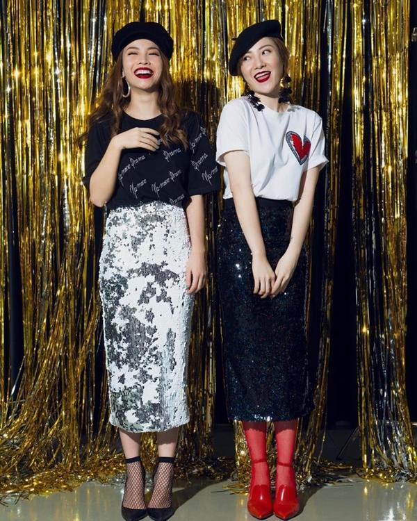 Gu thời trang của bộ đôi được nhận định là chịu nhiều ảnh hưởng từ giới trẻ Hàn Quốc.