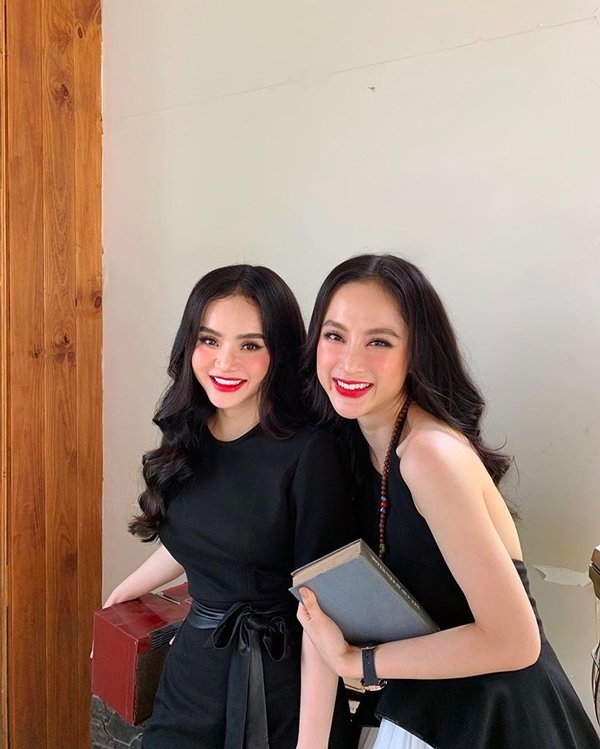 Những cặp chị em có gu thời trang sành điệu nhất Vbiz 9
