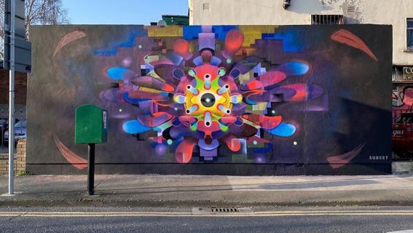 Loạttác phẩm nghệ thuật đường phố tuyên truyền phòng chống đại dịch Covid-19 ấn tượng trên thế giới 8