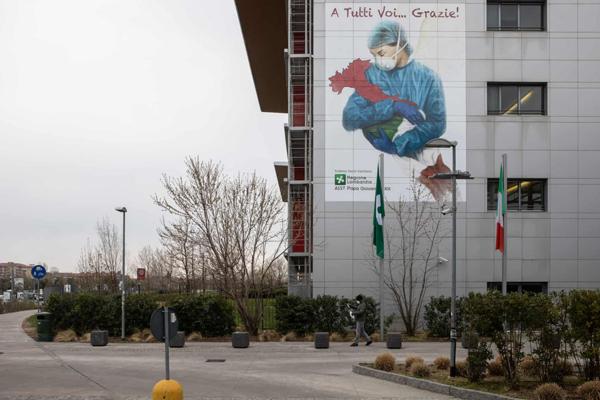 Loạttác phẩm nghệ thuật đường phố tuyên truyền phòng chống đại dịch Covid-19 ấn tượng trên thế giới 7
