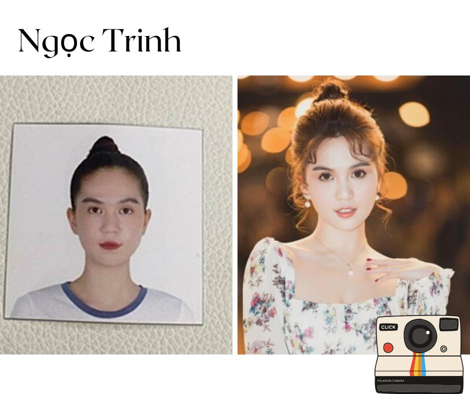 Những nét cơ bản trên khuôn mặt của Hương Tràm vẫn y nguyên cho tới bây giờ.