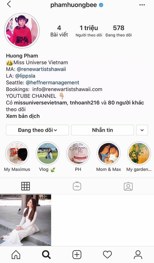 Sau những ồn ào về đời tư, Phạm Hương bất ngờ xóa sạch ảnh trên Instagram 0