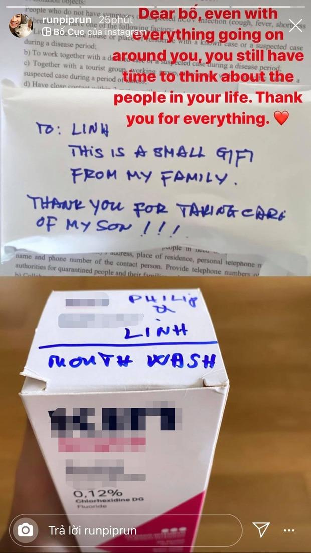 Mới đây, tỷ phú Johnathan Hạnh Nguyễn còn gửi quà cho Linh Rin, làm dấy lên tin đồn cô và Phillip Nguyễn sắp có 'tin vui'.