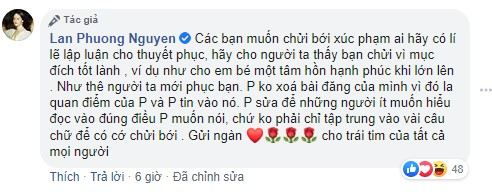 Dòng trạng thái của Lan Phương về Mai Phương gây tranh cãi, sao Việt lên tiếng 6