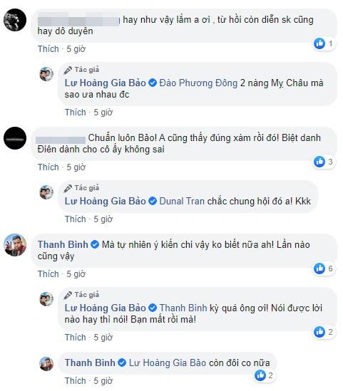 Nam diễn viên Thanh Bình cũng đồng tình việc Lan Phương lên tiếng thời điểm này là không hợp lý.