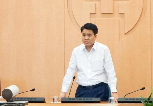Chủ tịch UBND TP. Hà Nội Nguyễn Đức Chung