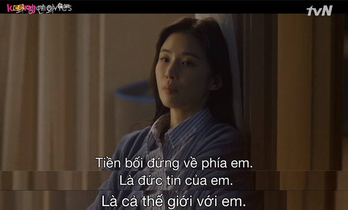 Ji Soo không thể quên được mối tình đầu khi những ký ức ùa về.