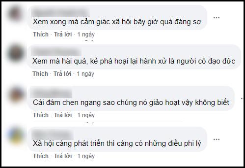 Video của Minh Hoàng được chia sẻ rộng rãi và bị chỉ trích 'văn vở'