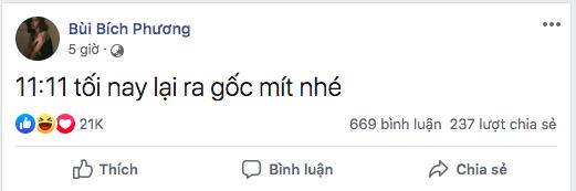 Bích Phương rủcác fan 'ra gốc mít'.