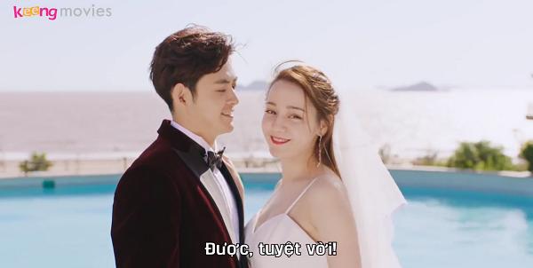 Chu Phương xinh đẹp, lộng lẫy bên chồng sắp cưới.