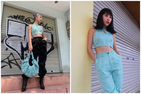 Đông đảo dân mạng đặt câu hỏi, liệu các cô nàng có đang bắt tay nhau tạo nên xu hướng thời trang váy/áo sườn xám cách tân hay không?
