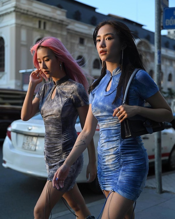 Hội chị em 'vũ trụ hotgirl Hà Thành' của Chi Pu liên tục 'lăng xê' kiểu váy cổ điển, báo hiệu cho một xu hướng mới? 8