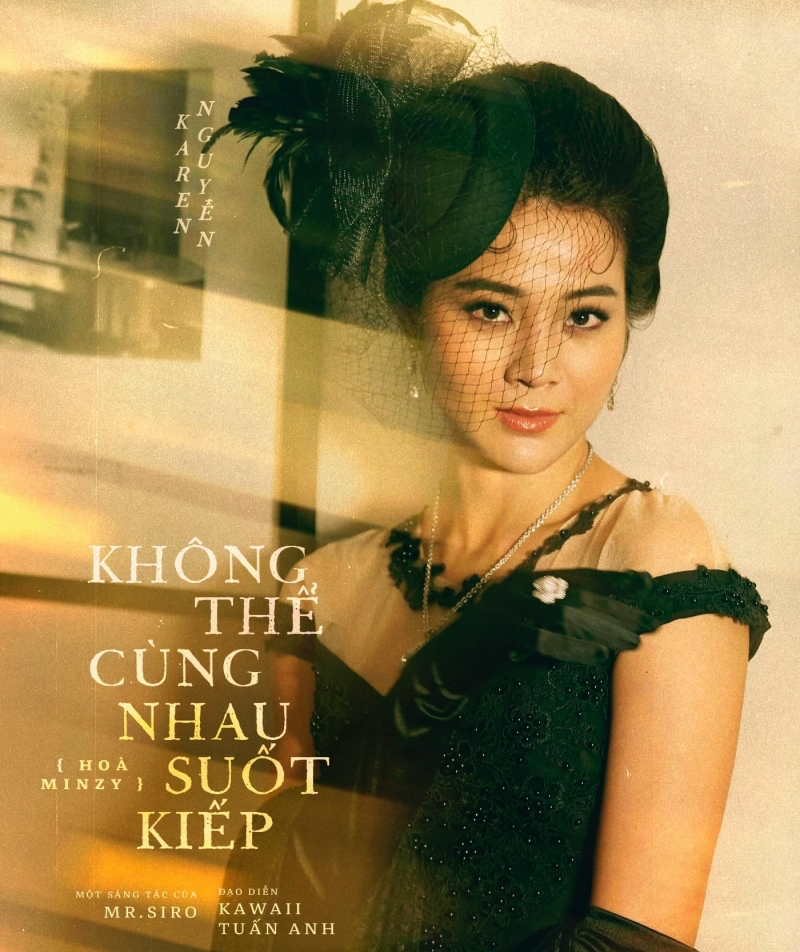 Karen Nguyễn trongKhông thể cùng nhau suốt kiếpthủ vai vũ nữ Lý Lệ Hà.